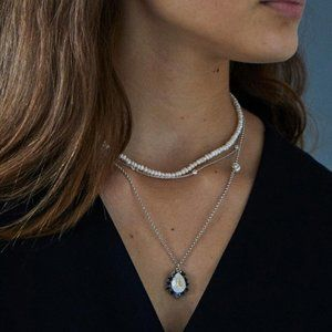 *NEW WITH TAGS* Aurora Necklace, Swarovski Crystal